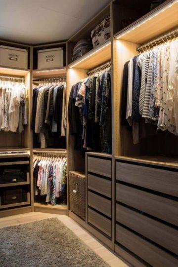 szafytu garderoba na zamówienie